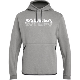 SALEWA Reflection 2 Dry Pull à capuche Homme, grey melange